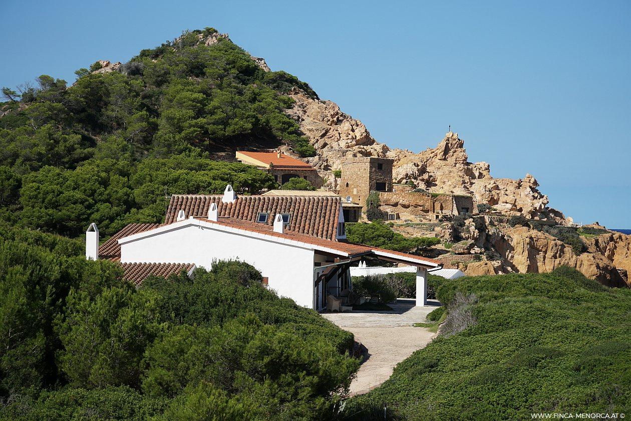 Ferienhaus direkt am Strand auf Menorca